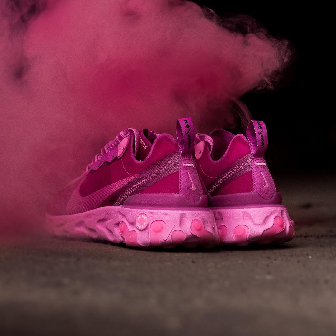 sensibilizzazione sul tumore al seno sneaker room nike ninja marketing