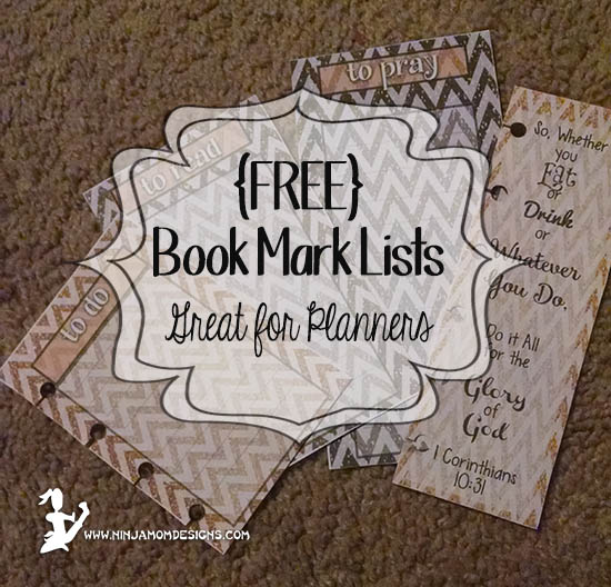 Book Mark Lists