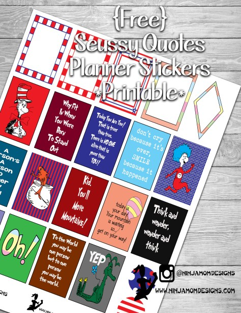 Free seuss quotes cover