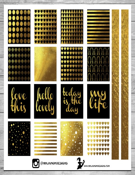 Free Black and Gold Cover 2