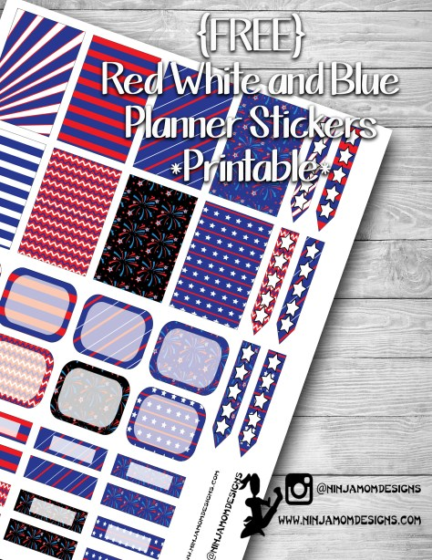 Free Red White and Blue Cover