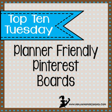 top ten tues pinterest