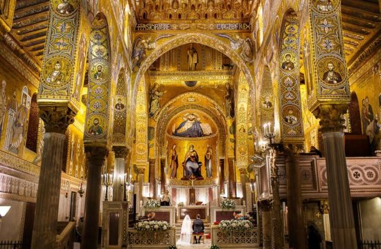 Wedding Reportage Photographer in Palermo Cappella Palatina