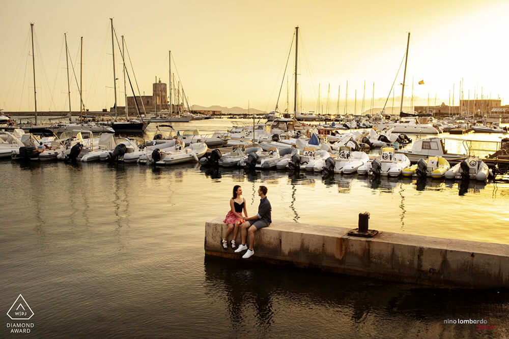 Trapani Photo Shoot Engagement