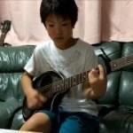 落陽/吉田拓郎 ギター弾き語り(11歳)