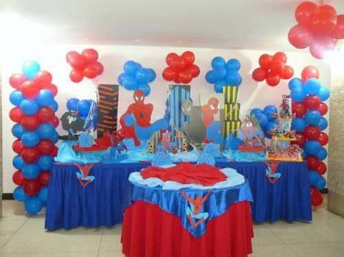 Paste Decoracion Para Fiesta De Spiderman