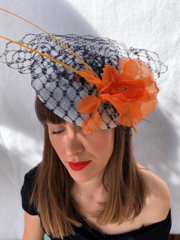 Serre-tête Tangerine - Ninou Laroze