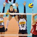 Ejercicios de bloqueo en el voleibol