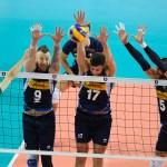 El bloqueo en voleibol