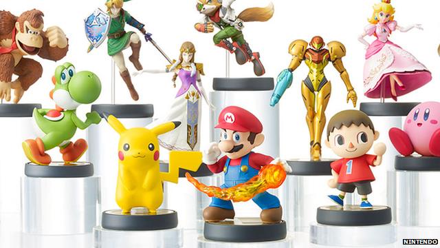 Un Fan Personaliza Sus Figuras Amiibo Nintendo Switch 3DS Wii U