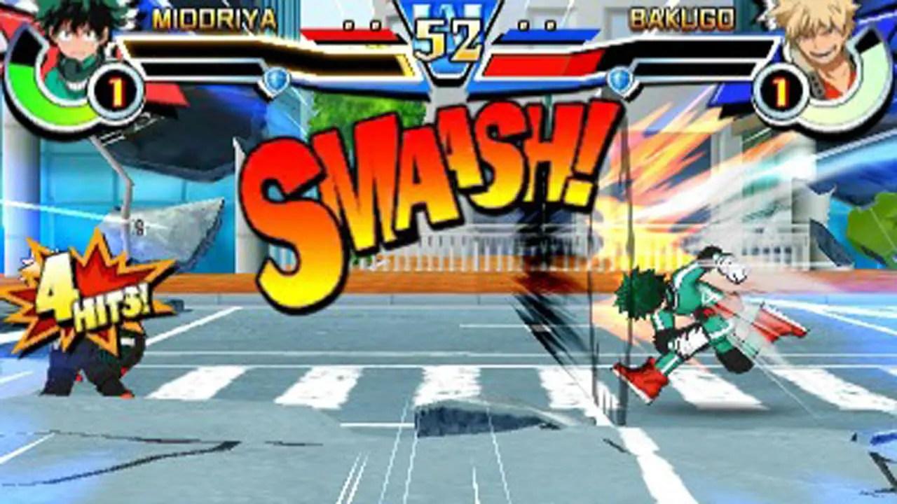 My Hero Academia Battle For All Llegar A Las 3DS