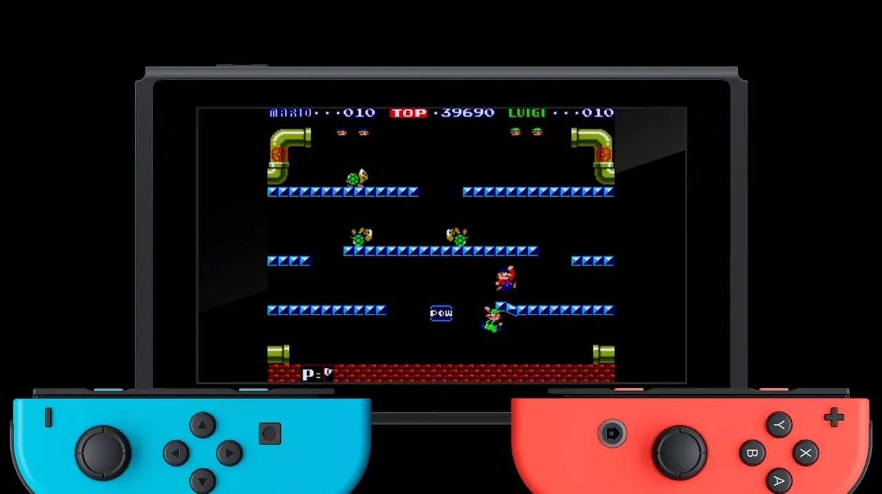 Nuevo Gameplay De Arcade Archives Mario Bros Nintendo Switch Y 3DS