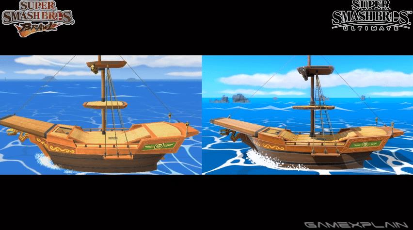 Comparativa En Vdeo De Los Escenarios De Super Smash Bros Brawl Con Sus Versiones De Super