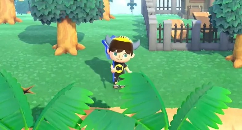 This video shows us how to design the classic hat with horns in Animal Crossing: New Horizons