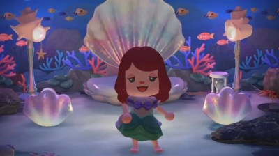 Disney's The Little Mermaid movie in Animal Crossing: New Horizons