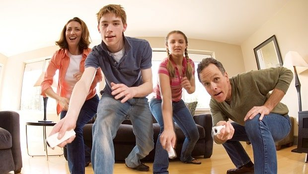 family-playing-wii