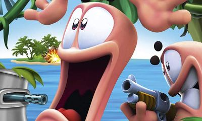 Worms Battle Islands Review Header
