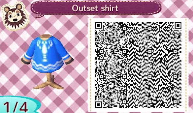 Link's Outset Island shirt for Animal Crossing: New Leaf