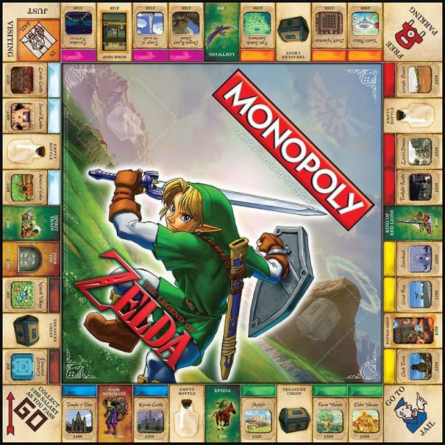 monopoly-board-the-legend-of-zelda