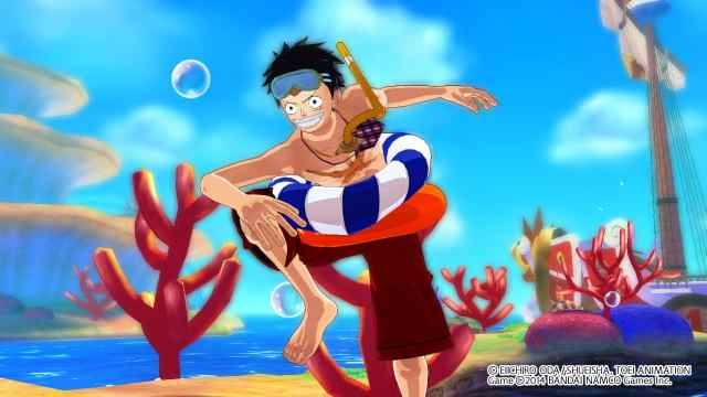 one-piece-unlimited-world-red-luffy-swimsuit-costume-screenshot-2
