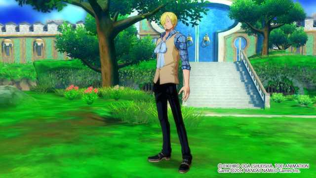 one-piece-unlimited-world-red-sanji-casual-vest-costume-screenshot-1