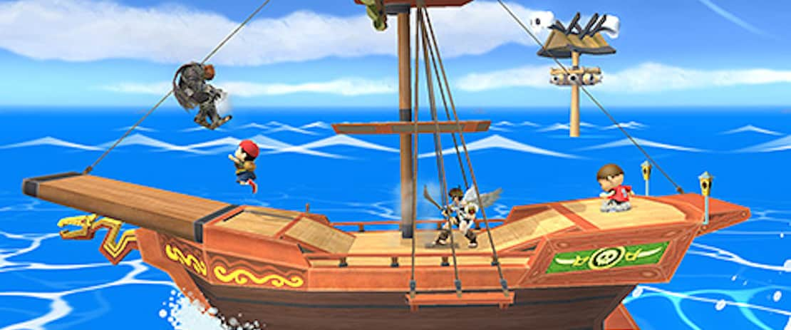 Three New Stages arrive for Super Smash Bros  for Wii U
