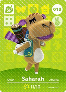 saharah-animal-crossing-amiibo-card