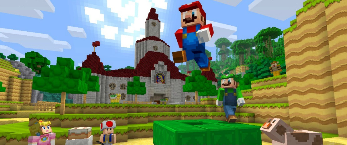 Minecraft: Nintendo Switch Edition Builds Toward An