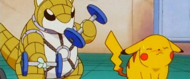 pikachu-weight-training