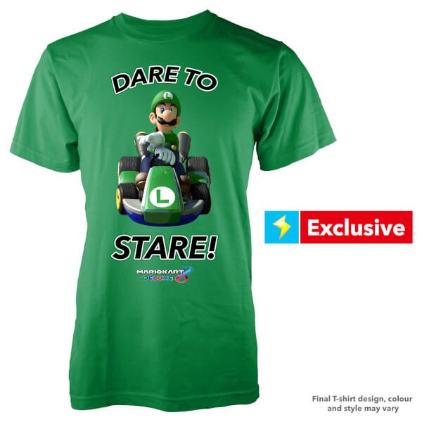 luigi-dare-to-stare-t-shirt