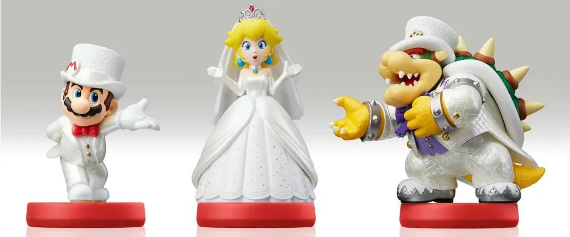 Super Mario Odyssey Amiibo Functionality Unlocks Costumes