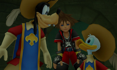 Kingdom Hearts 3D [Dream Drop Distance] Review Screenshot 1