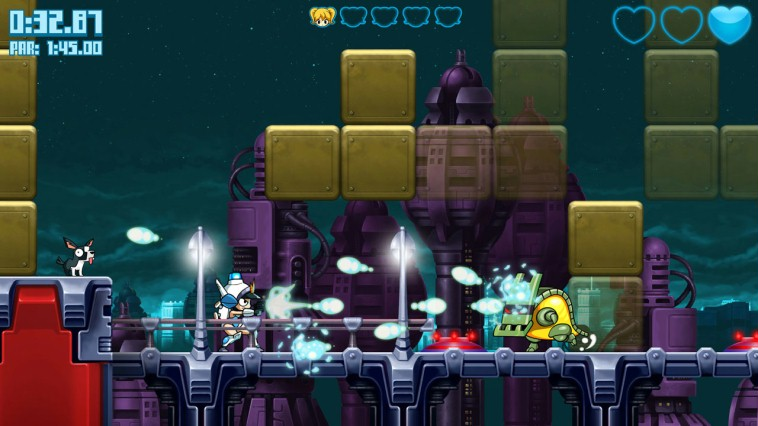 Mighty Switch Force! Hyper Drive Edition Review Screenshot 1