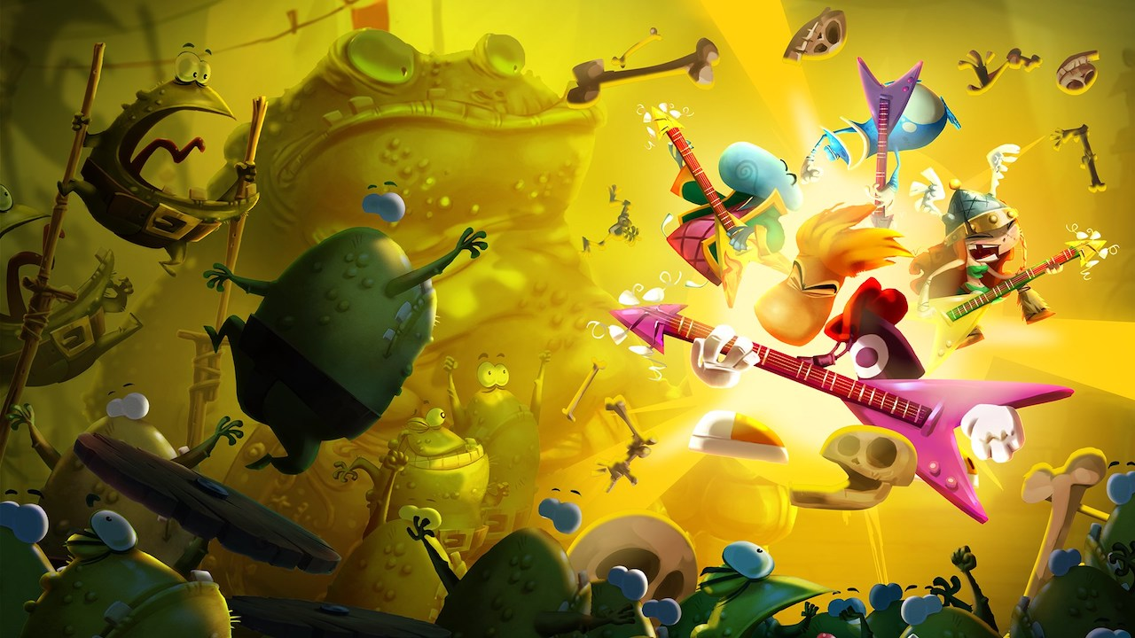 Rayman Legends: Definitive Edition Review Header
