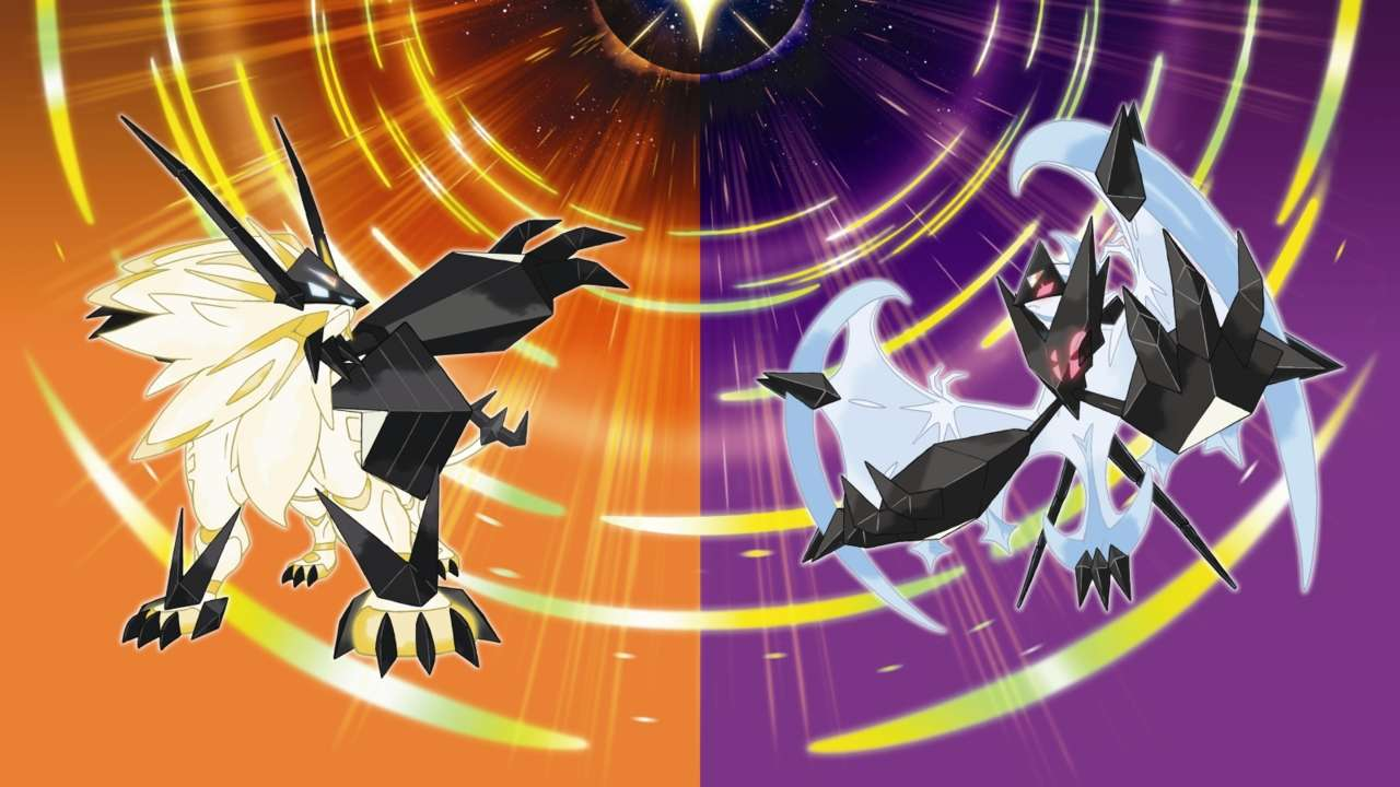 Pictures of pokemon ultra sun and moon