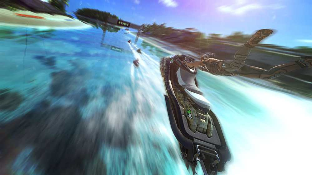 Aqua Moto Racing Utopia Review Screenshot 2