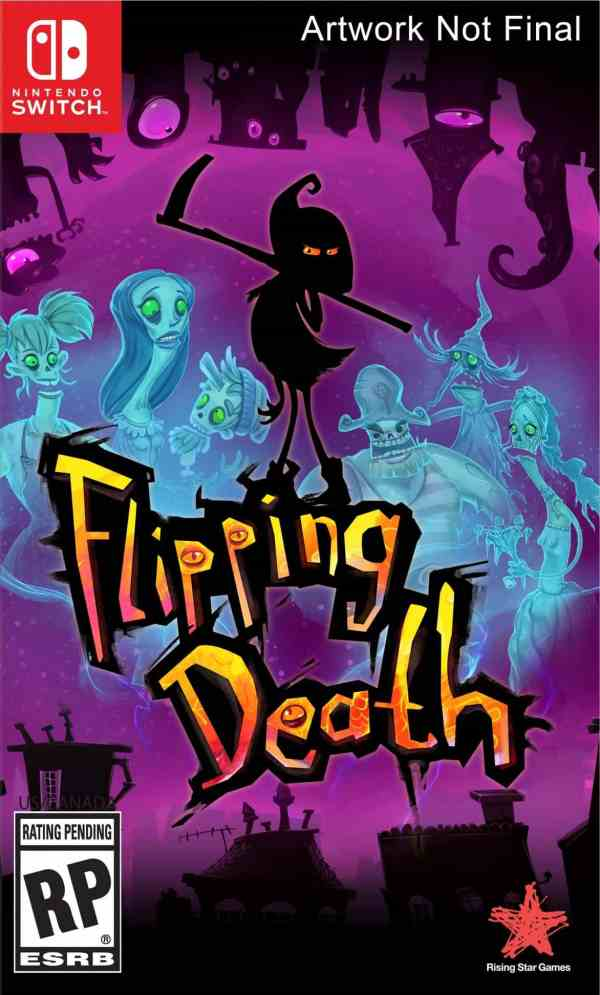 Flipping Death Switch Box Art