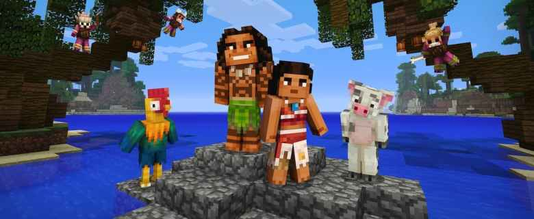 Minecraft: Nintendo Switch Edition Moana Character Pack Screenshot
