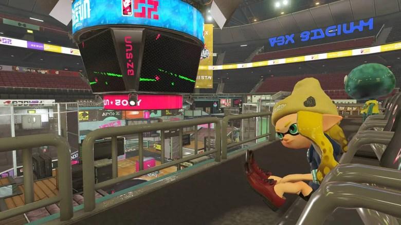 Splatoon 2 Goby Arena Screenshot 2