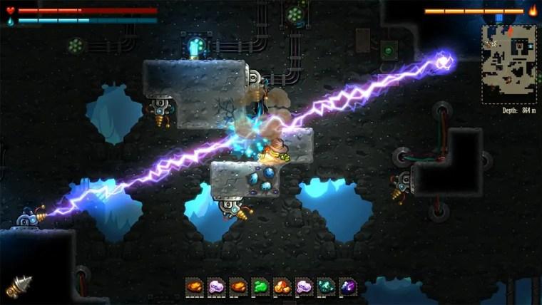SteamWorld Dig Review Switch Screenshot 2