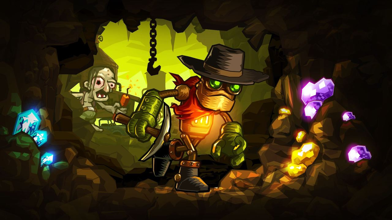 SteamWorld Dig Review Header