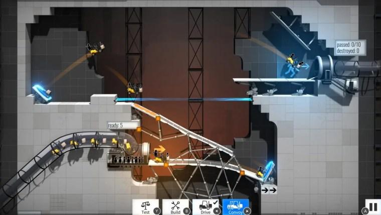 Bridge Constructor Portal Review Screenshot 1