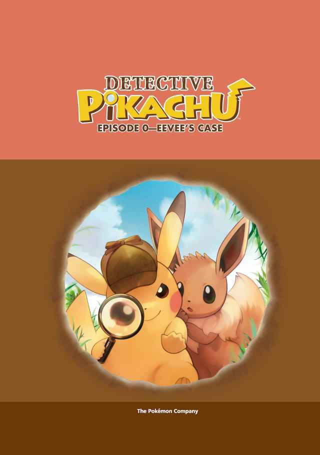 Detective Pikachu: Episode Zero - Eevee's Case Artwork
