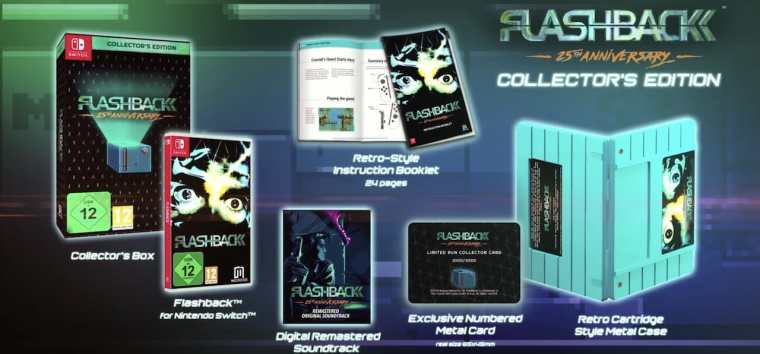 Flashback 25th Anniversary Collector's Edition Image