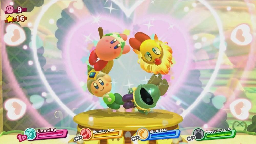 Kirby Star Allies Review Screenshot 2