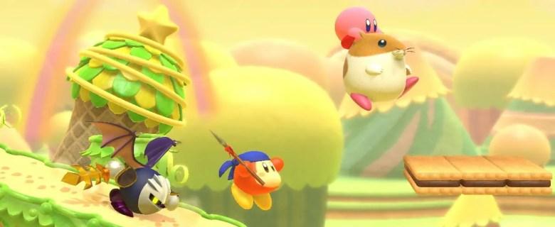 Kirby Star Allies Rick Screenshot