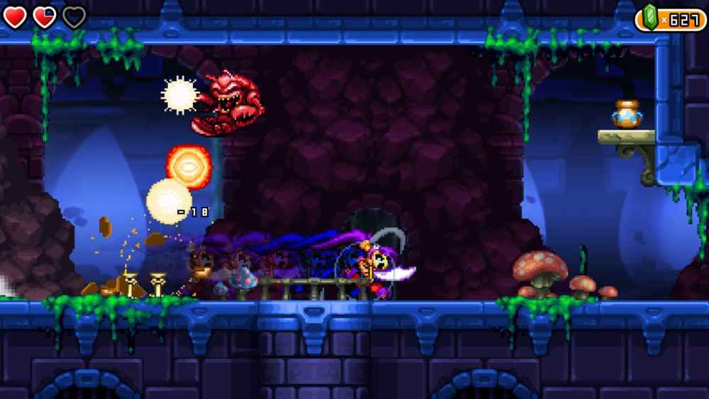 Shantae and the Pirate's Curse Review Screenshot 1