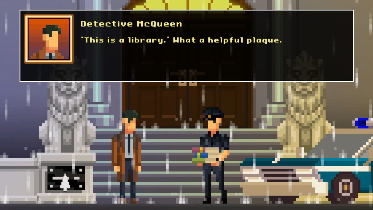 The Darkside Detective Review Screenshot 2