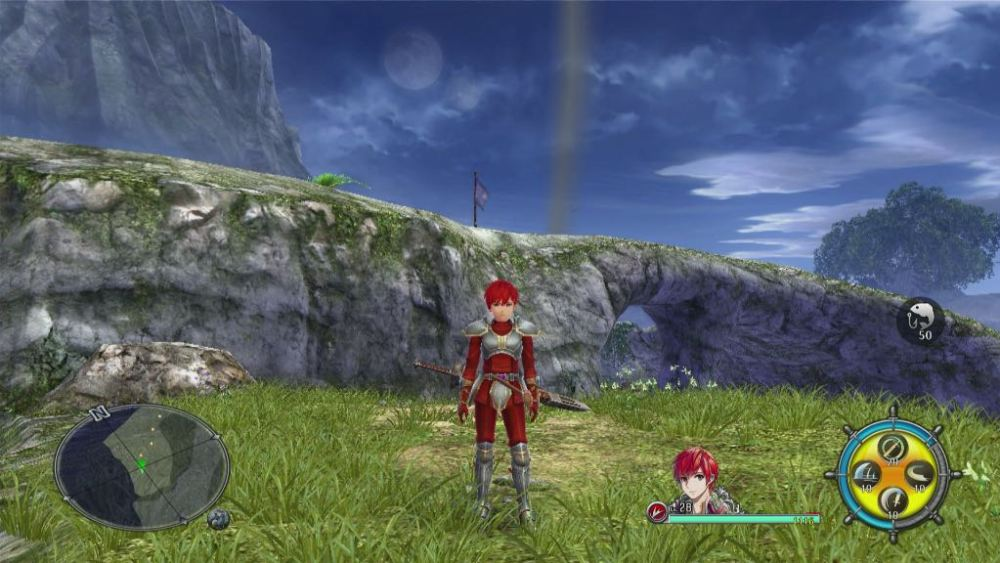 Adol's Silver Armor Ys VIII: Lacrimosa of DANA Screenshot
