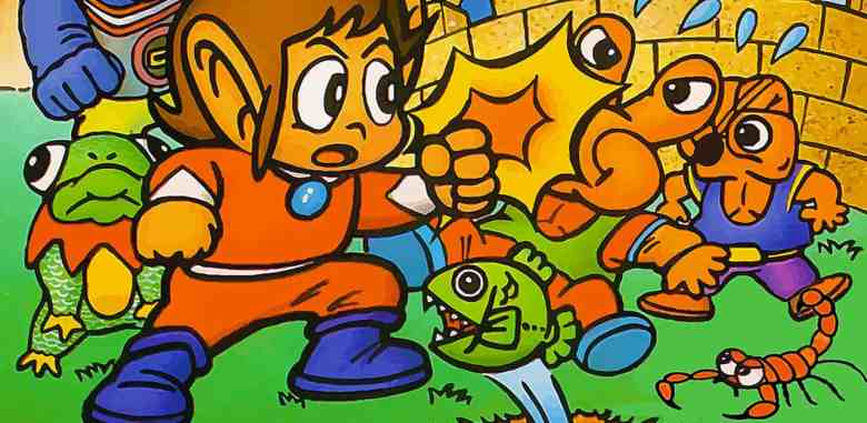 Alex Kidd In Miracle World Artwork